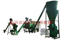 山东肥料粉碎 肥料输送 肥料包装设备生产线
