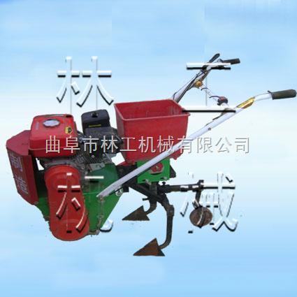 山东济南汽油播种机厂家直销,汽油棉花播种机 林工机械厂