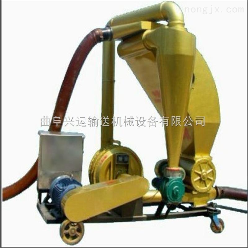 柴油动力移动气力吸料机,散颗粒用装卸车吸粮机