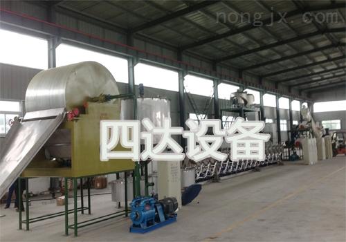 机械化地瓜淀粉生产线
