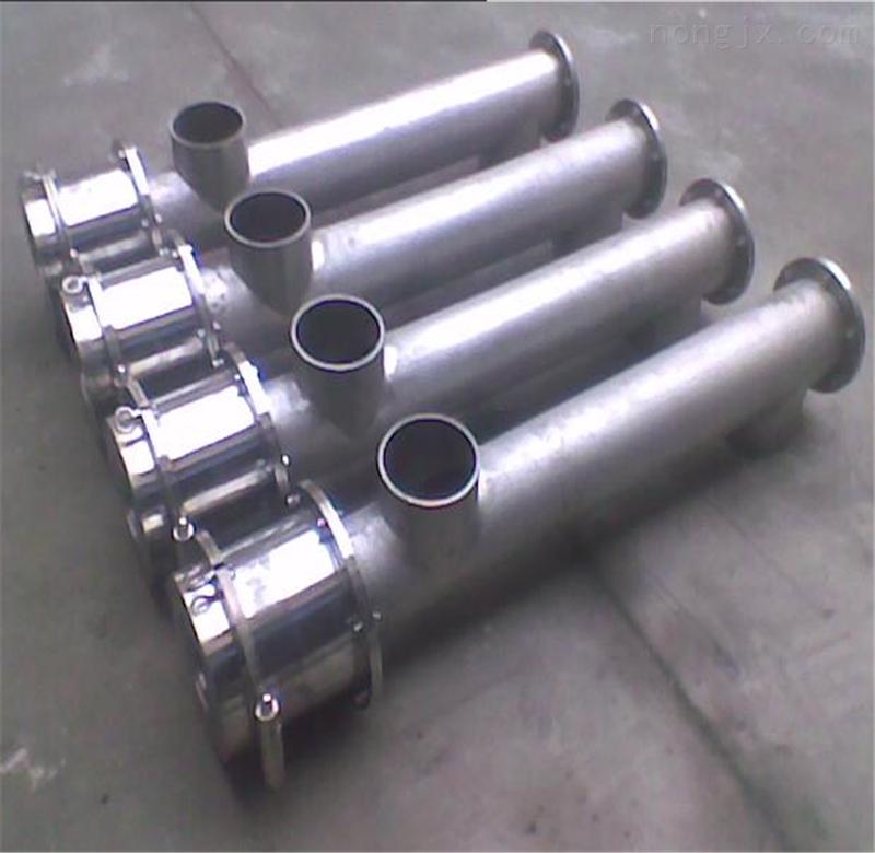 3m108mm-粮食螺旋提升机 大管径垂直螺旋提升机 不锈钢螺旋输送机