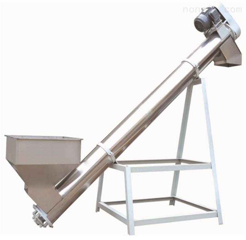 螺旋垂直输送机 螺旋输送机价格 不锈钢螺旋输送机
