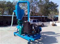 柴油机带动气力吸粮机