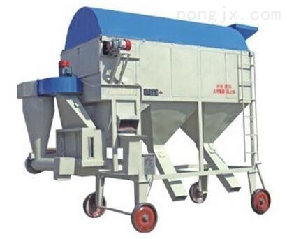 双层初清筛 圆筒清理筛 除杂机——宏伟机械专业制造