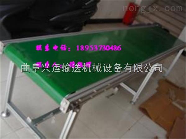 移动式铝合金输送机,工业用铝型材送料机