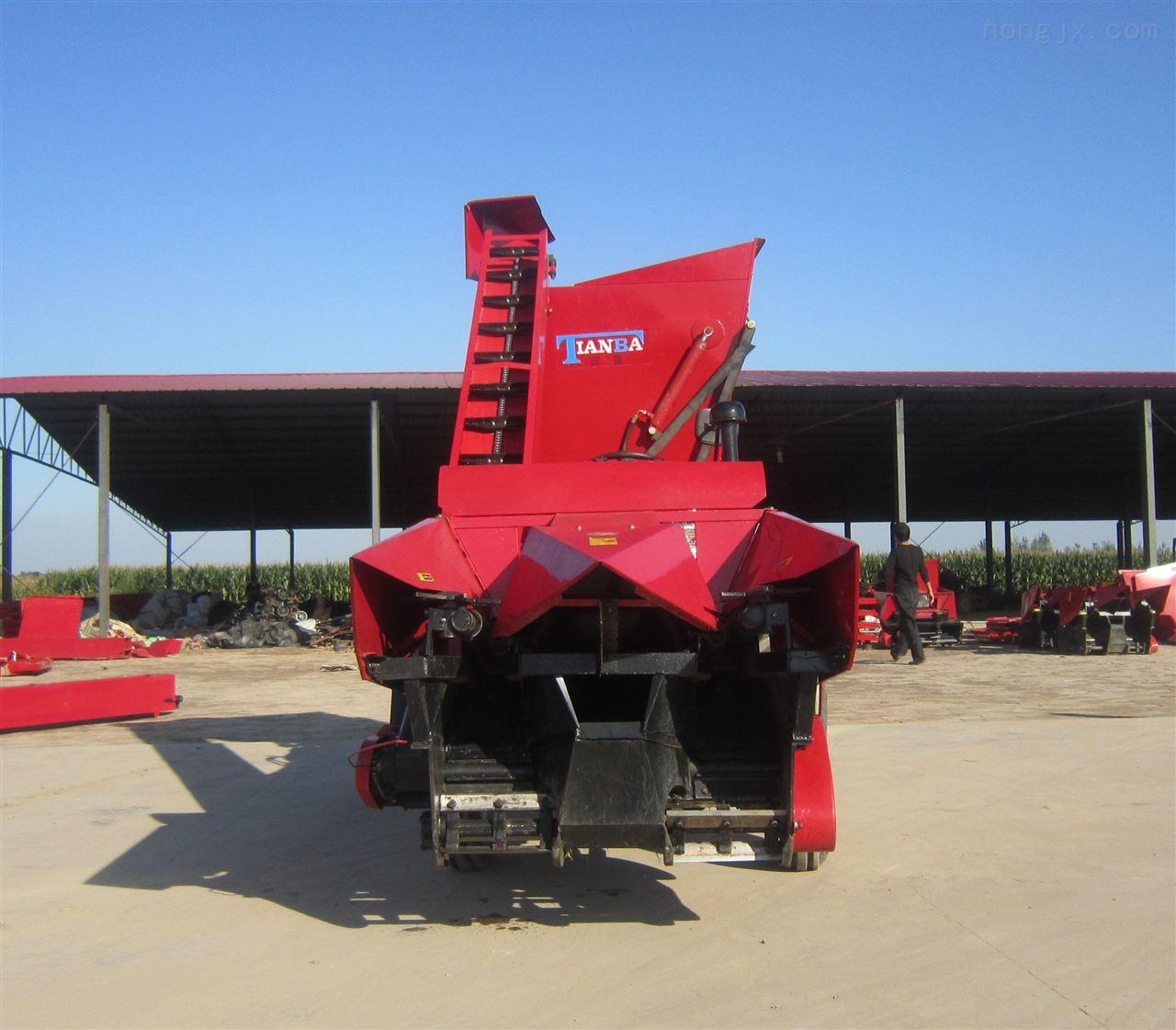 玉米收获机厂家 田霸 背负式玉米收割机