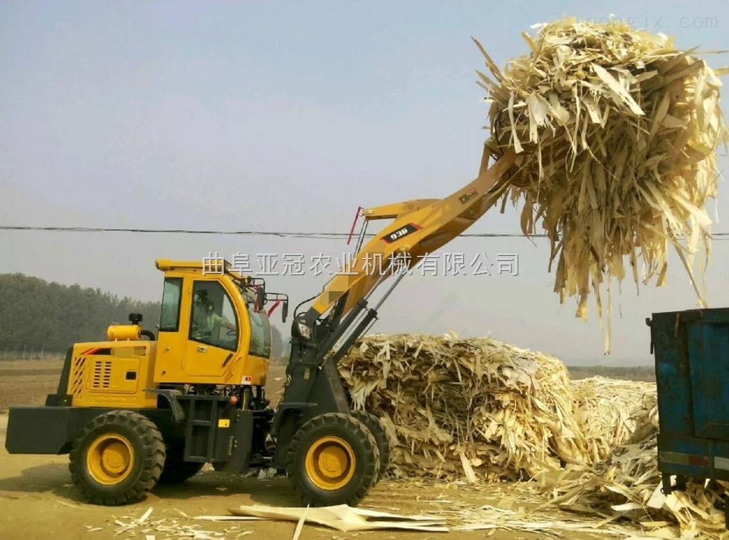 小型铲车装载机   多功能抓草抓木机