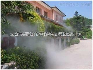 望城縣蔬菜大棚噴霧加濕系統