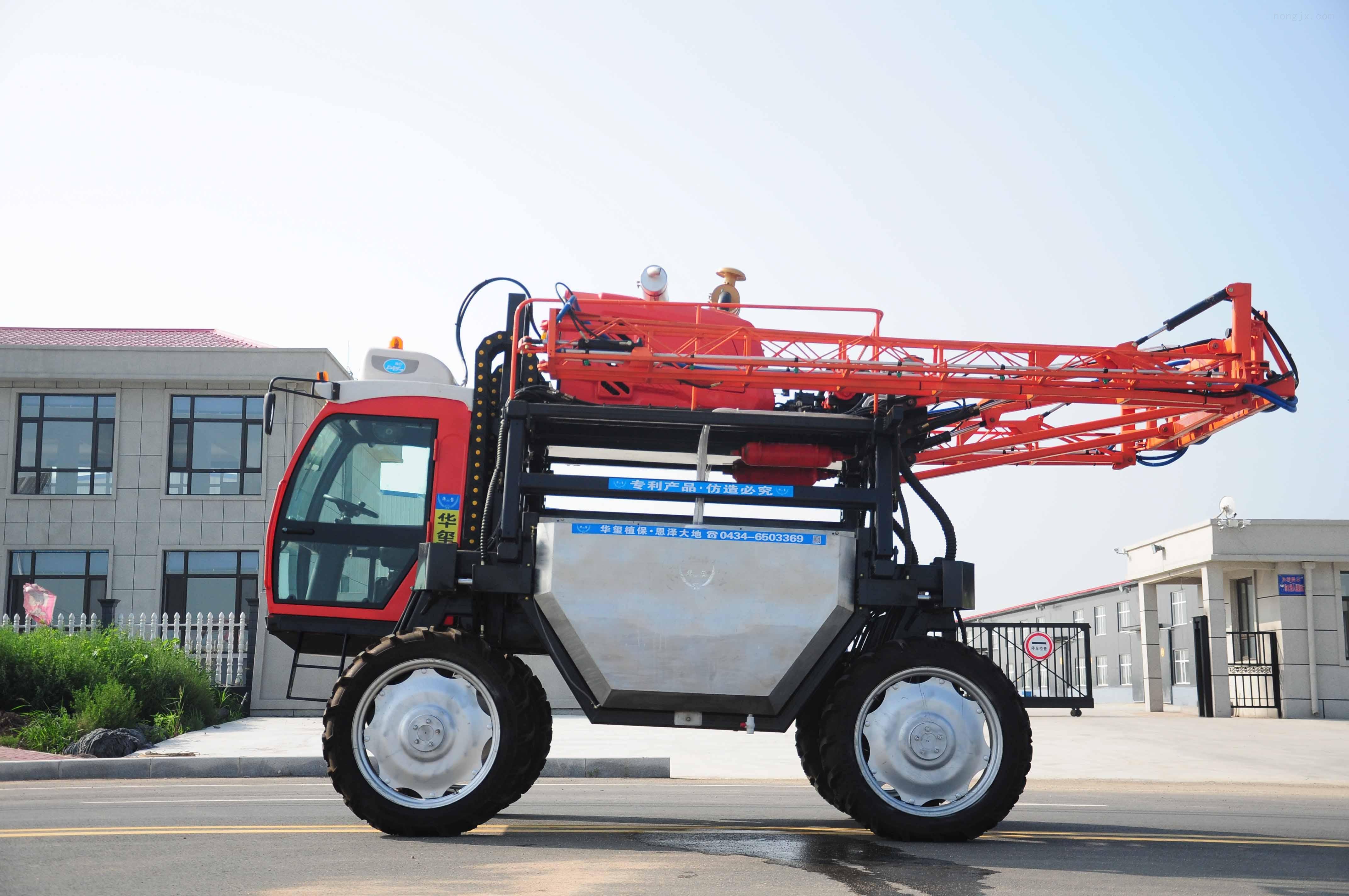华玺高架农业机械玉米喷药机大型自走式玉米打药机厂家