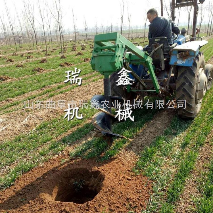果樹挖坑施肥機 新型地鉆設備 大棚立柱機