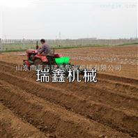 玉米播种覆膜机 花生起垄播种机 红薯起拢机