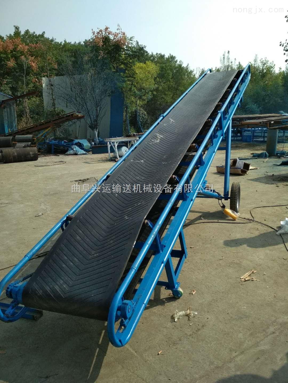 升降式麦秆输送机  行走式麦捆输送机