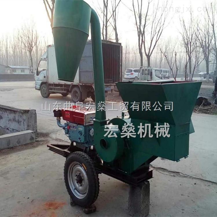 HS 9FQ50-50-自动进料秸秆粉碎机 多功能锤片式粉草机