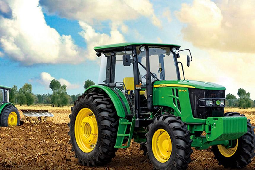 约翰迪尔6B系列1404拖拉机展现高品质风采