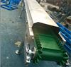 不锈钢封闭式皮带输送机  绿色皮带输送机  移动式皮带输送机